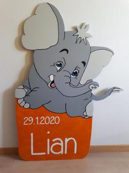 Nr.51 Elefant Tapsi Variante orange