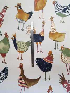 Poules couleurs pvc mat