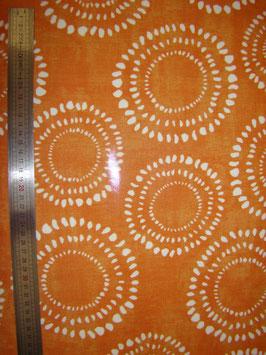 Soleils Oranges pvc brillant