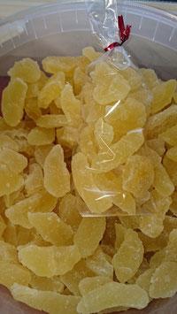 Poires cristallisées