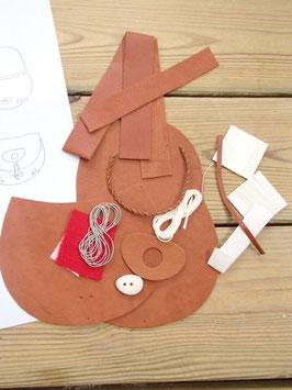 Material för samisk portmonnä / ミニポーチ用キット