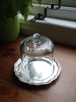 Glaskupan m. fat / ガラスドームとプレート