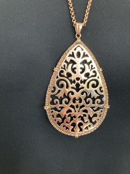 Qudo Halskette in Rosé-Gold