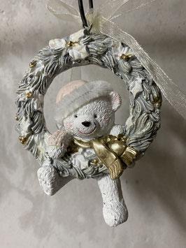 Formano Hänger Teddy Antik Anhänger Teddy Weihnachtsbaum Winter Deko-Idee