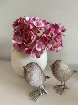 Blütenstrauß rosa pink täuschend echt Frühling Sommer