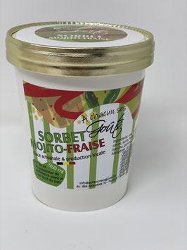 Sorbet Mojito fraise