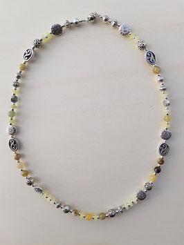 "Edelstein Halskette ""Xiuyan Jade"""