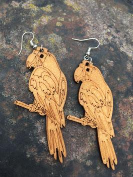 Ohrhänger Papagei