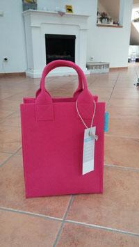 Aktentasche aus Filz pink (5018)2H