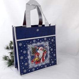 """Tasche"""" Zum Weihnachten """" blau"""
