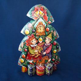 """Tannenbaum """"Kinder mit den Geschenke"""""""
