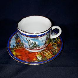 Teeset, Porzellan Duljowo
