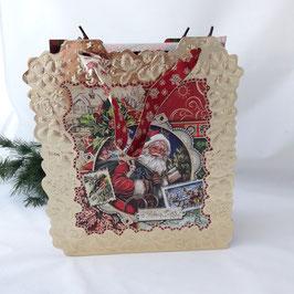 """Schachtel """"Weihnachts -          karte"""""""