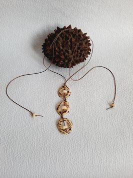 Halskette  ''Trio Natur''