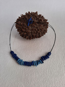 "Halskette "" Rio Azul """