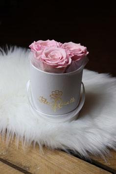 Flowerbox Ronde  3 Roses