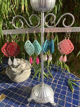 Ohrringe im Boho Style in neuen Farben