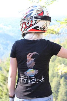 PohlBock T- Shirt Schwarz Damen