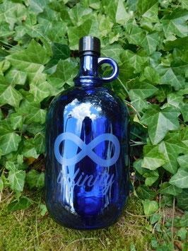 Flasche 2 Liter mit Infinity