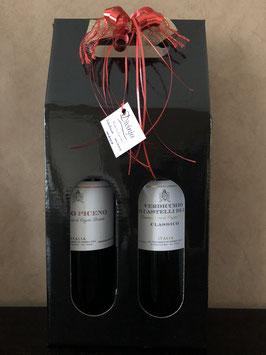 Geschenkpakket Rosso Piceno & Verdicchio dei Castelli di Jesi