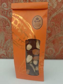 Schokoladentaler Zartbitter Nussvariation