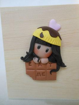 portamatite Doll+tavoletta cioccolato