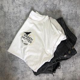 Rabenmutter Shirt weiß