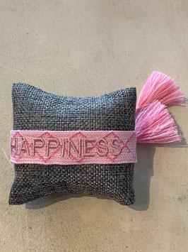 """gewebtes Armband """"Happiness"""" pink"""