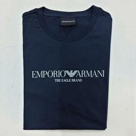 T-SHIRT BLU NAVY EMPORIO ARMANI