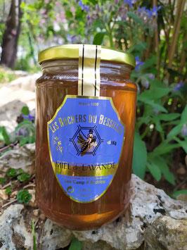 Miel de lavande kilo verre