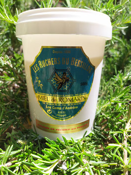 Miel de romarin 500 g. plastique