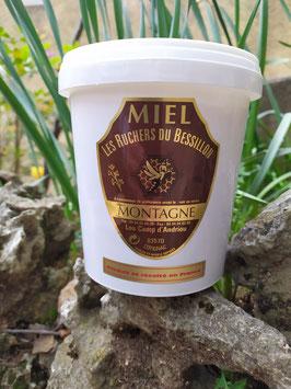 Miel de montagne (ou forêt) kg plastique