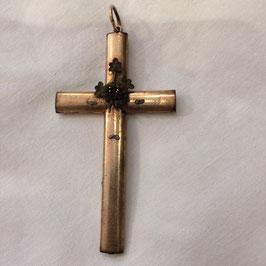 schönes grosses Biedemeier Kreuz