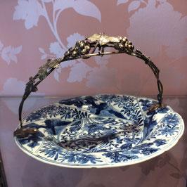 Schale blau China K'ang-hsi 1662 - 1722