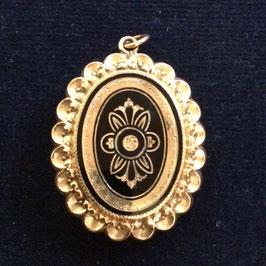 Schönes Biedermeier Medallion