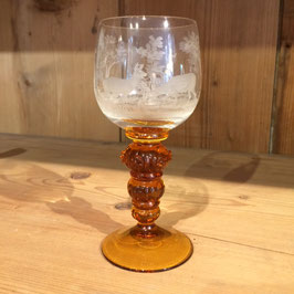 Glas Jagdmotiv, Rehe,