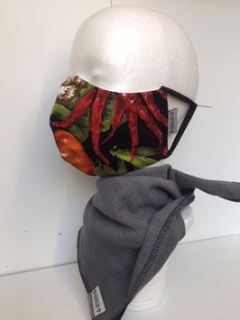 Nase/Mund Maske  Gemüse