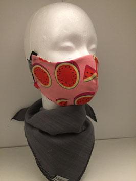 Nase/Mund Maske Wassermelone