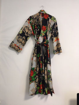 Kimono Dress poppy rose