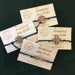 Armbänder aus Zirbenholz