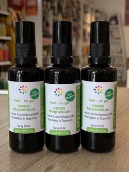 3 x feel 2go - DMSO-Magnesium 50ml Spray, Einzelpreis € 15,90