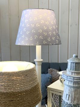 Lampenschirm Anker grau