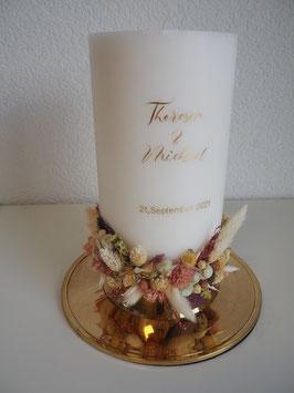Hochzeitskerze Theresia