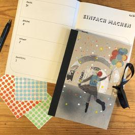 Buchkalender 2020 //  A5 - Tanzballon