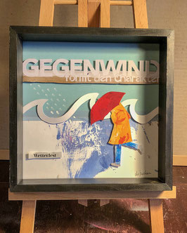 Gegenwind // UPCYCLING-Collage