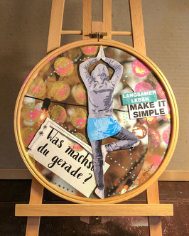 Make it simple // UPCYCLING-Collage