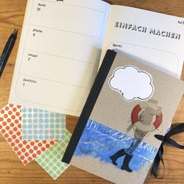 Buchkalender 2020 //  A5 - Zum Meer