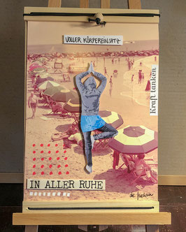 In aller Ruhe // UPCYCLING-Collage