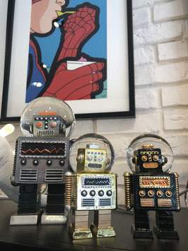 BOULE À NEIGE ROBOT