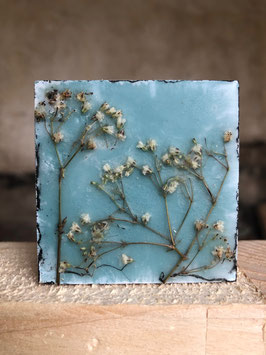 "Wachsmini ""Dried Flower blue"""